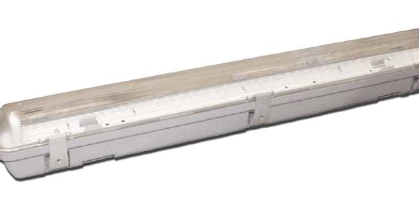Plafoniere Stagne Per Tubi Led : Poliplast led plaf stagna vuota ip per tubo cm